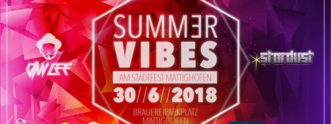 Summer Vibes am Stadtfest Mattighofen
